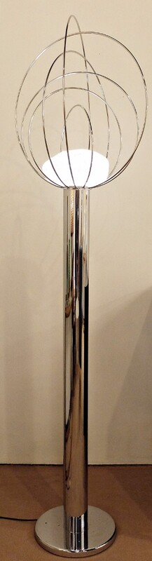 1960s Barnaba floor lamp by Angelo Brotto