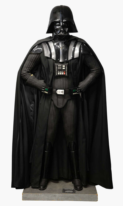 A life size Darth Vader limited edition statue created by Rubies Costume  (379/500)