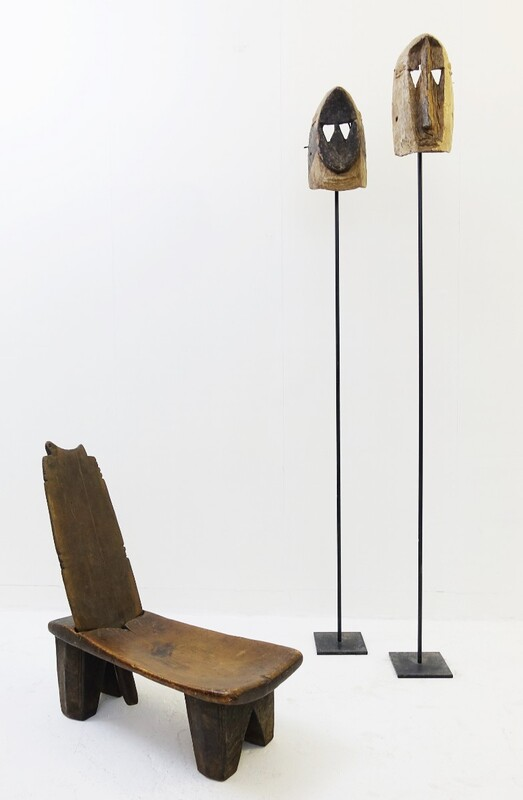 African palaver chair