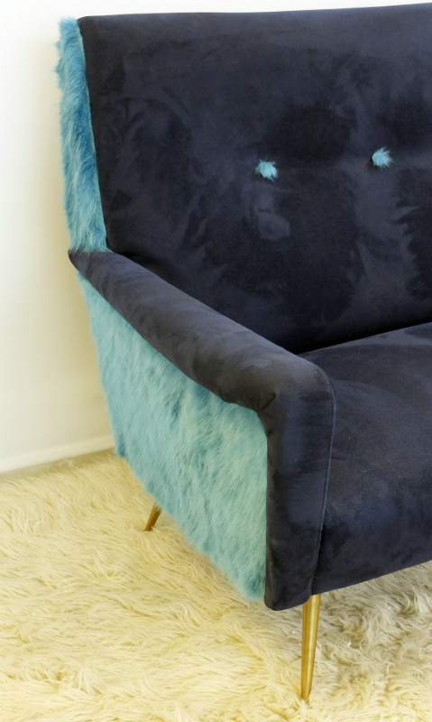 alcantara italian sofa sofa seating via antica. Black Bedroom Furniture Sets. Home Design Ideas