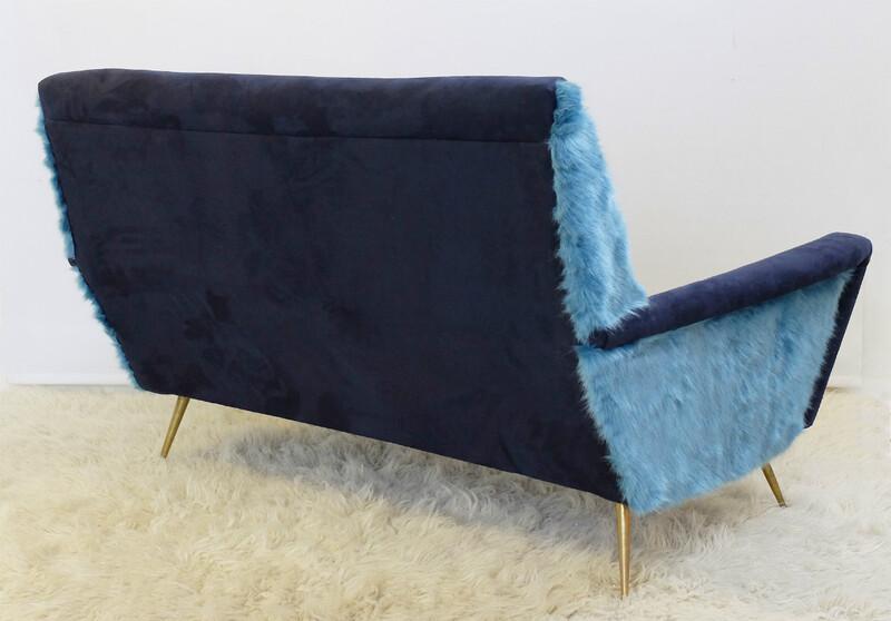 Sofa Alcantara sofa seating via antica
