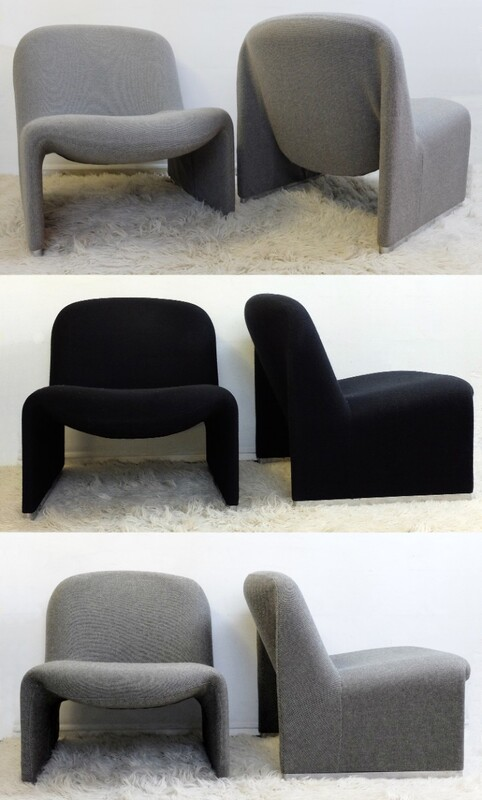 Alky Chairs Designed by Giancarlo Piretti for Castelli - large quantity available/3 colors