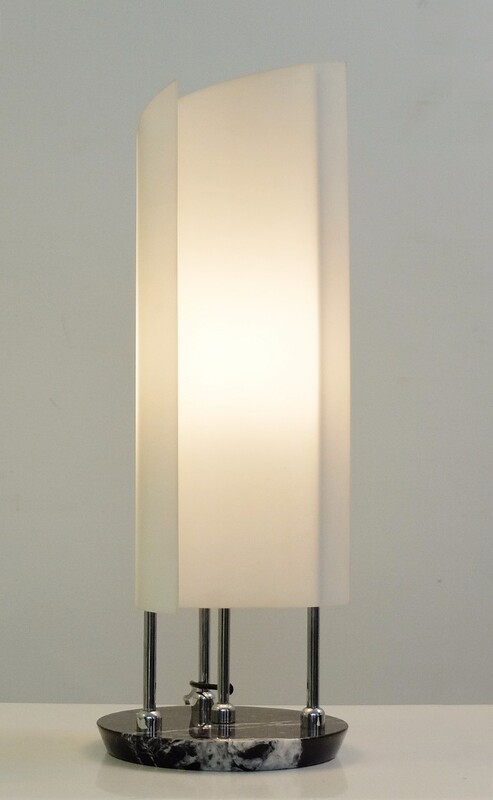 Arianna Table Lamp by Bruno Gecchelin for Oluce, 1978