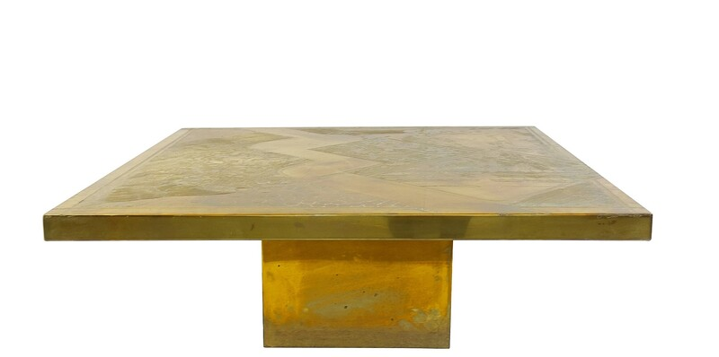 Armand Jonckers Square Coffee Table, 1977