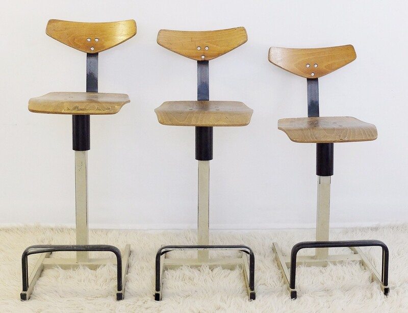 ARTO Belgian Industrial High Chairs