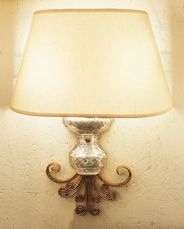 Baguès wall lamp