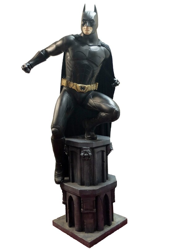 Batman Begin Dark Knight Rises Life-Size Statue -  1st Series Production, Numbered
