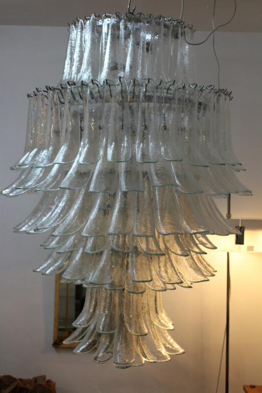 Big chandelier - Model from the 70ties