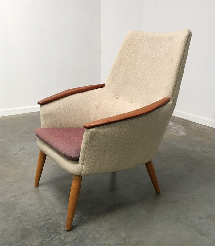 Bovenkamp High Back Armchair