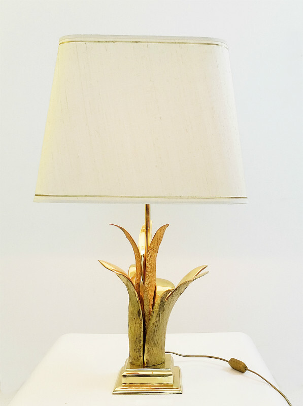 Bronze Gilt Table Lamp, Paris, 1970s