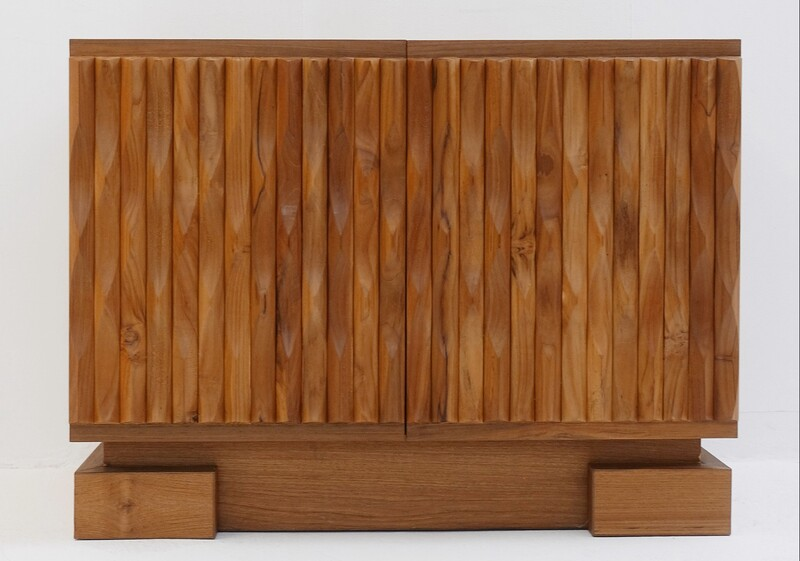 Brutalist small sideboard