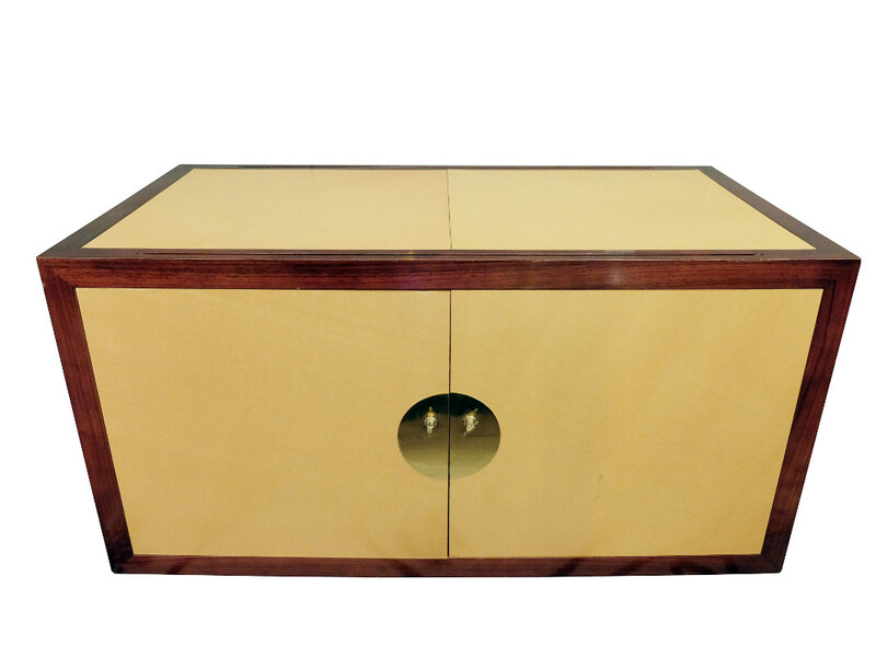 Buffet with Brass Handles