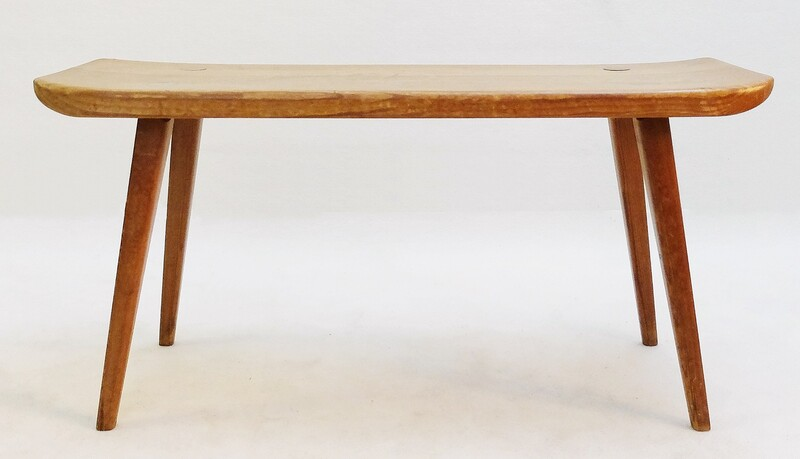 Carl Malmsten Visingsö Bench in Pine Wood by Svensk Fur, Sweden 1950s