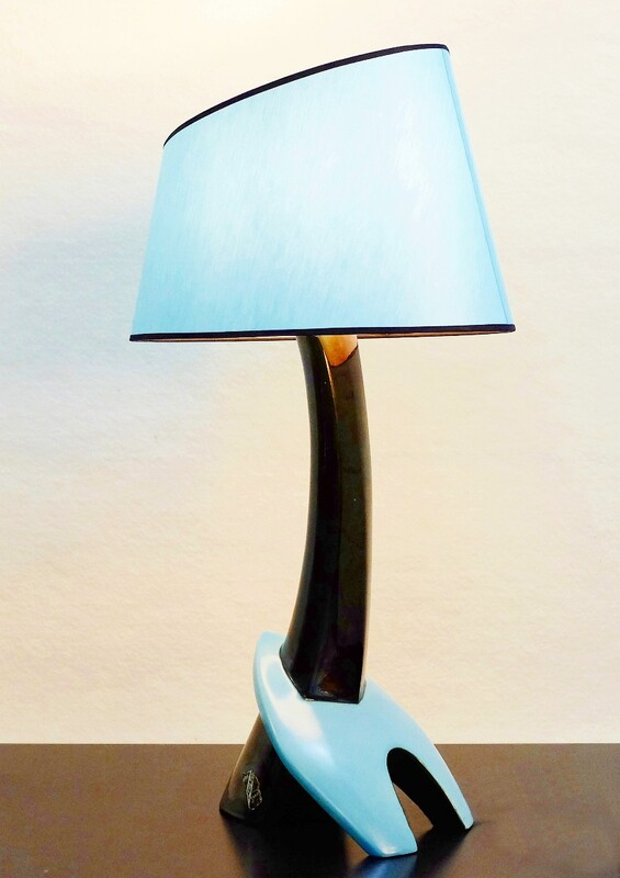 Ceramic Pottery table Lamp