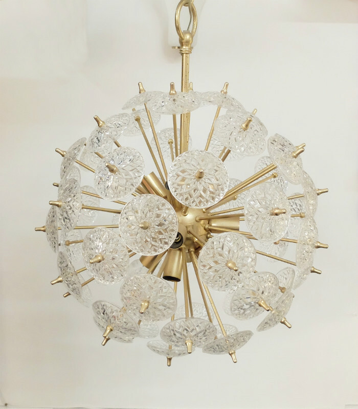 Chandelier attributed to Emil Stejnar
