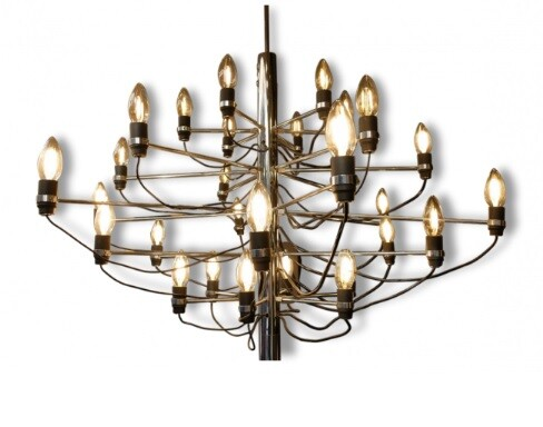 Chandelier Gino Sarfatti by Arteluce edition 297/30 - 1958