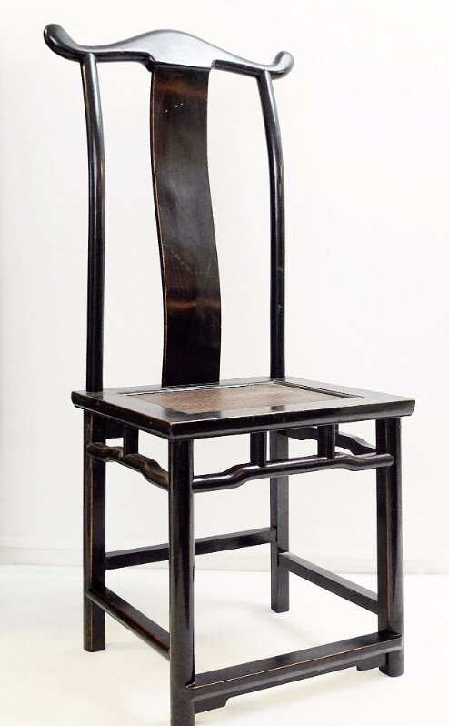 Chinese Lacquered Chair