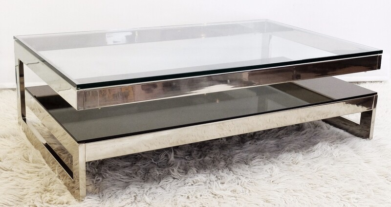 Chrome G coffee table - Belgo Chrome