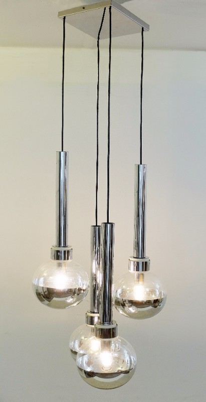 CLAXY Ecopower Industrial Barn Mini Metal Pendant Light 1