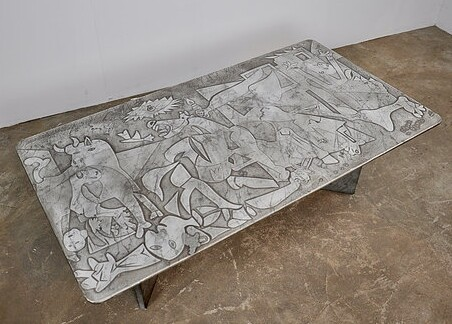 Coffee table OMAGGIO PABLO PICASSO