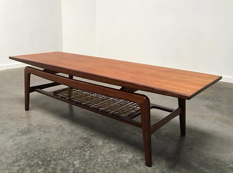 Coffee table - teak - Denmark - circa 1960