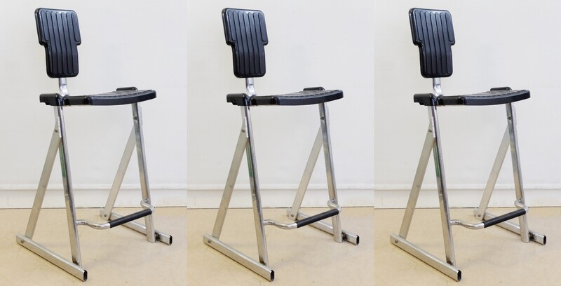 Condor Bar Stools By Andries And Hiroko Van Onck For Magis - Italy - 3 available