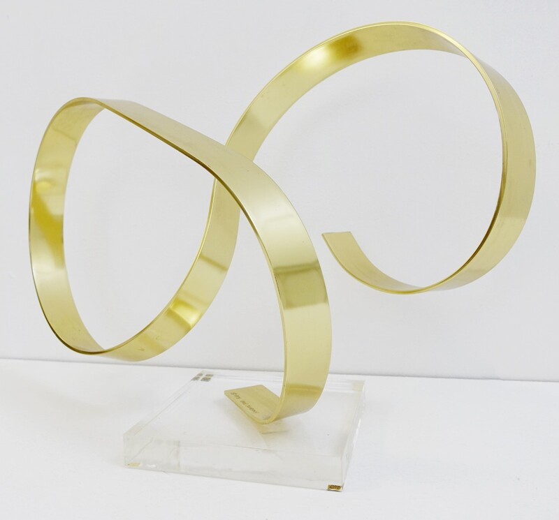 Dan Murphy Aluminum and Lucite Sculpture - 1978