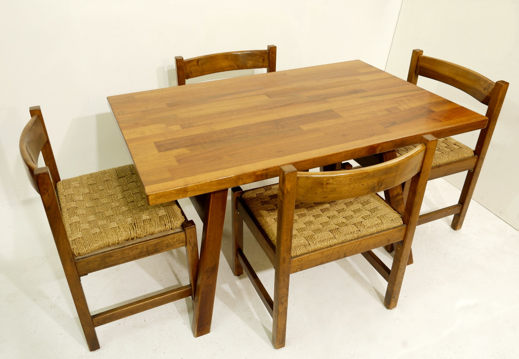 Dining Room Furniture Including A Table Four Chairs By Giovanni Michelucci For Poltronova Circa