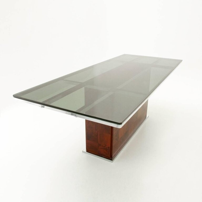 Dining Table by Willy Rizzo for Mario Sabot -  1970s