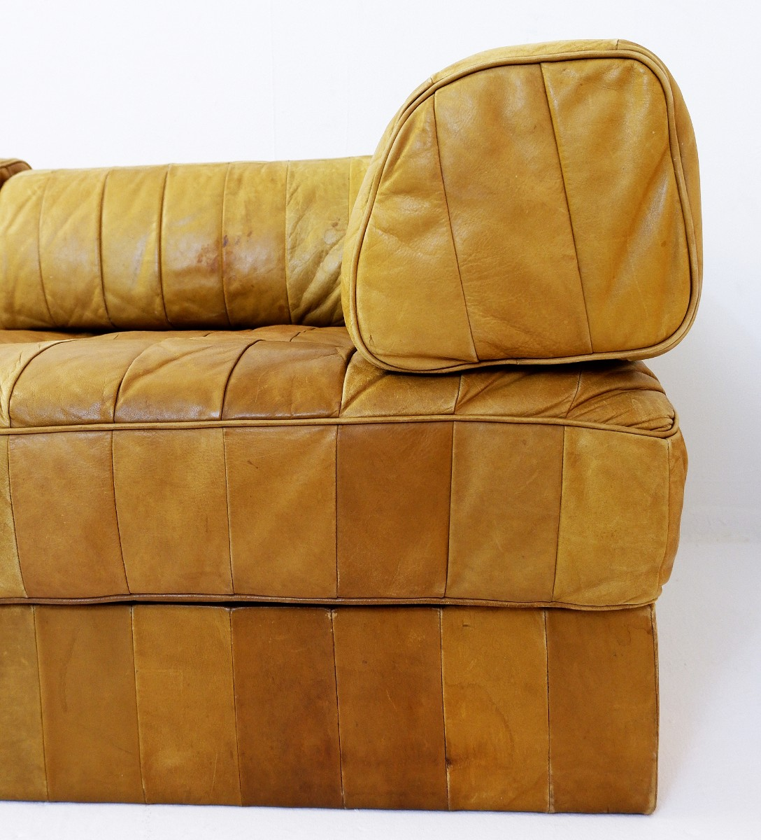 De Sede Patchwork.Ds88 Patchwork Cognac Laether Modular Sofa From De Sede