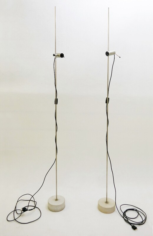 Floor lamp, Model 387. Designed by Tito Agnoli for O'Luce - a pair available