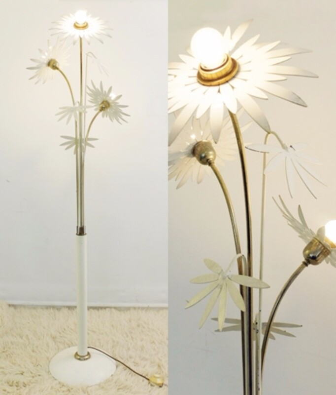 flowers floor lamp
