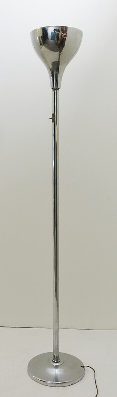 French Art Deco Floor Lamp by Robert Mallet-Stevens, 1932