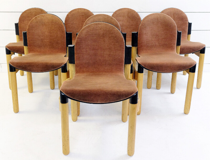 Gerd Lang for Thonet 8 Flex chairs