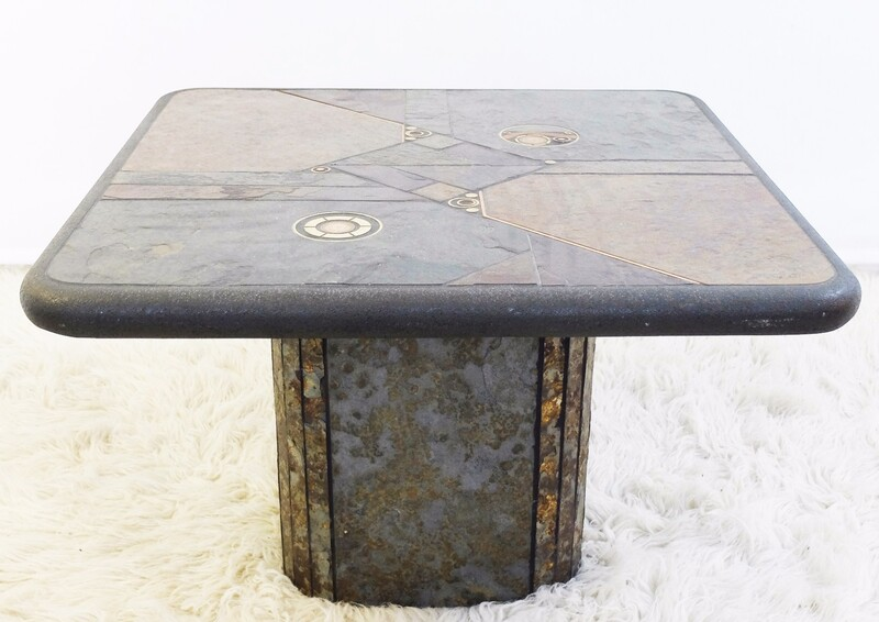 German Coffee Table by C. Kneip, 1989