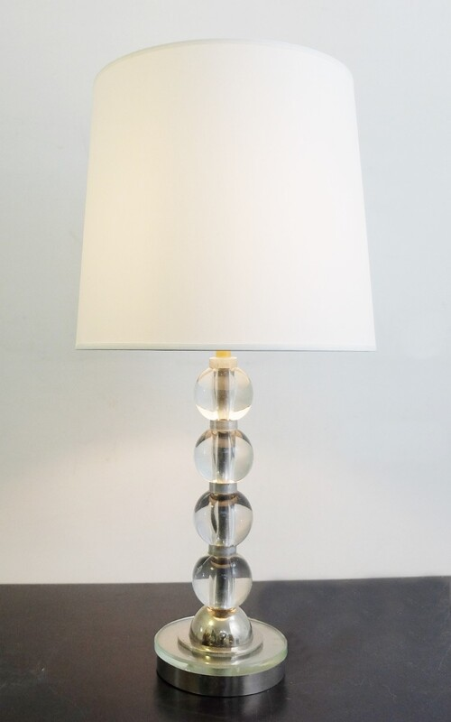 Glass Spheres Table Lamp