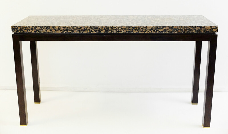 granite and wood by E. J. Wormley  console