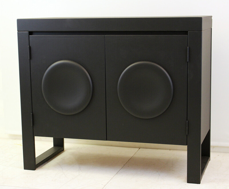 Graphic small sideboard