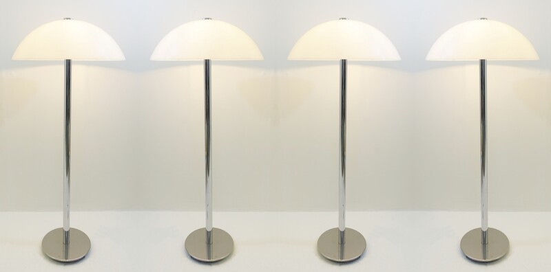 guzzini mushroom floor lamp - 6 available