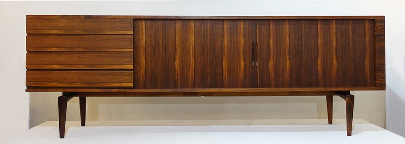 H.W. Klein low sideboard for Brahim Mobelfabrik c.1960'S