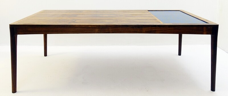hermann bongard large rosewood coffee table