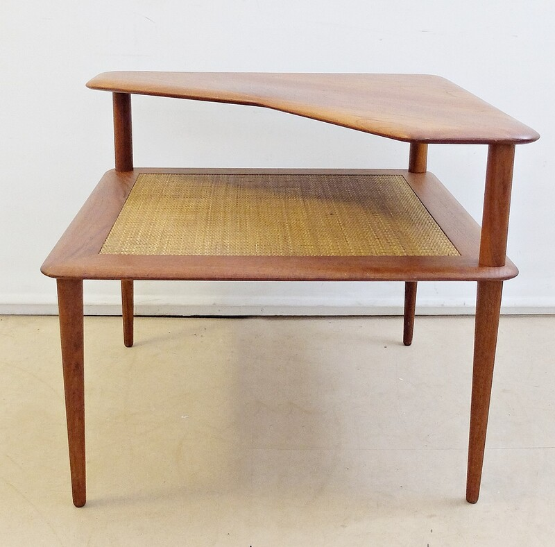 "Hvidt & Mølgaard-Nielsen for France & Søn ""Minerva"" Teak Table-circa 1957"