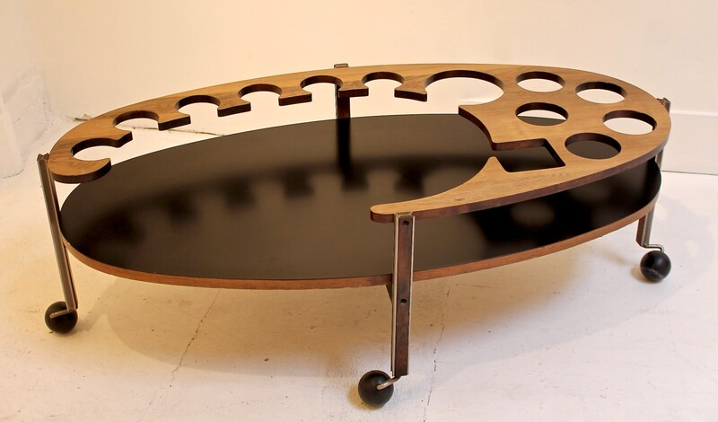 Ico Parisi Coffee Table for Stildomus, Milan, 1960