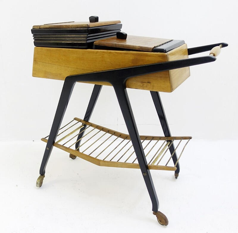 Ico Parisi Sewing Box trolley