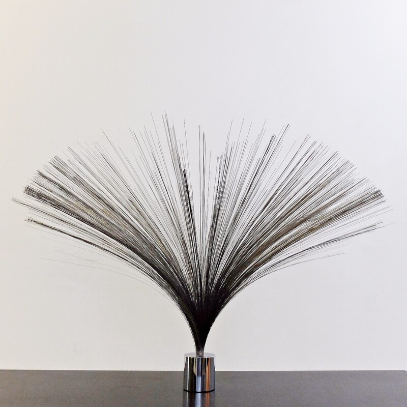 Iron Sculpture « Spray » by Harry Bertoia circa 1960