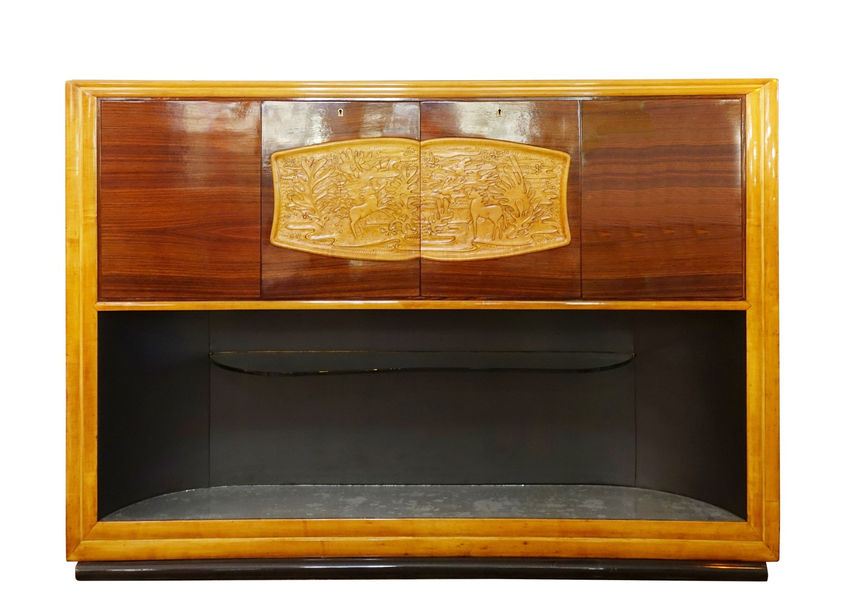 Italian Art Deco Bar Cabinet