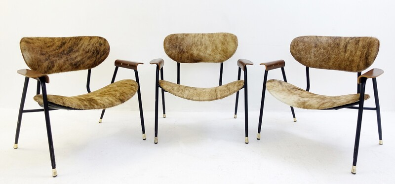 Italian Easy Chairs by Gastone Rinaldi for Rima, 1950s - New Upholstery - 2 available