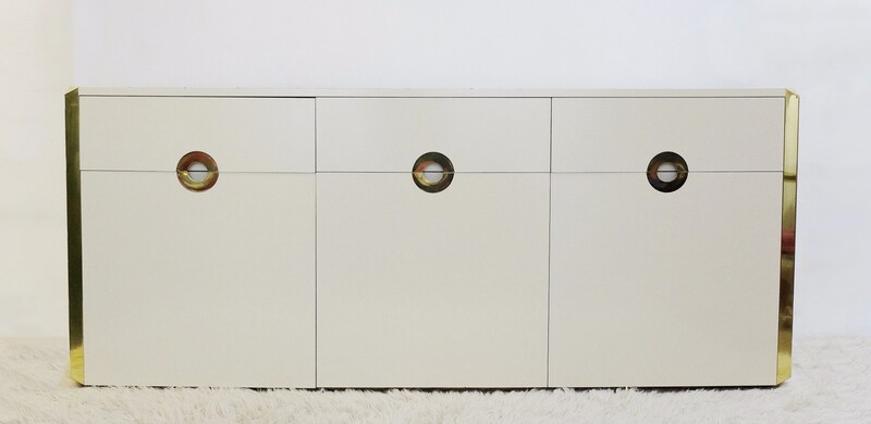 Italian Mario Sabot sideboard, Willy RIZZO - 1970s