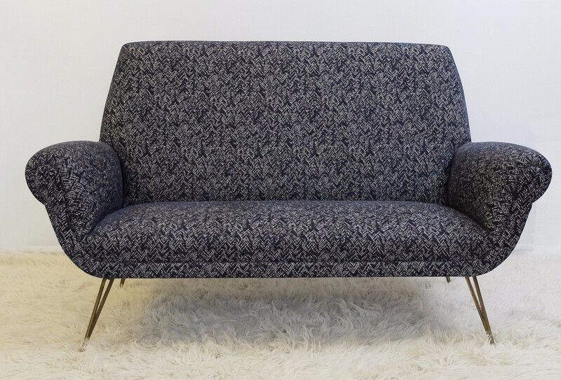 Italian Sofa - New Upholstered