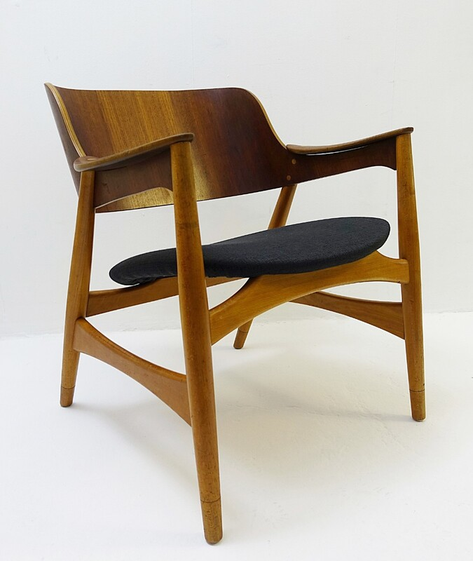 Jens Hjorth Lounge Chair for Randers Stolefabrik